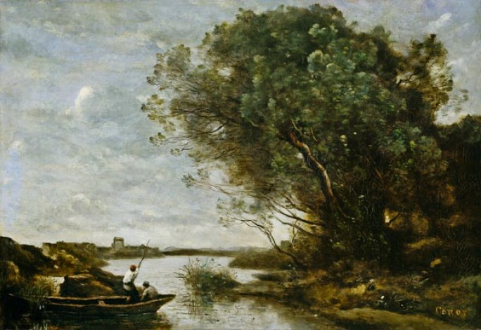 Camille Corot_river