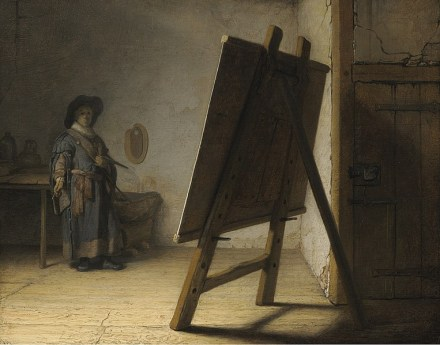 763px-Rembrandt_The_Artist_in_his_studio