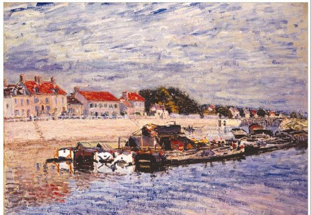 800px-Alfred_Sisley_-_Barges_on_the_Loing_at_Saint-Mammès_-_Google_Art_Project