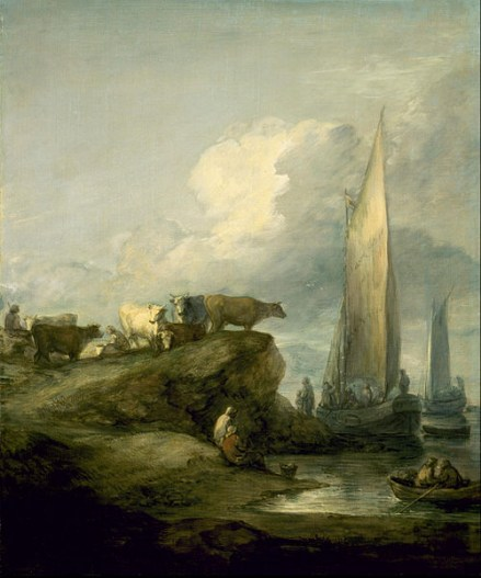 Coastal_Scene_with_Shipping_and_Cattle_-_Google_Art_Project