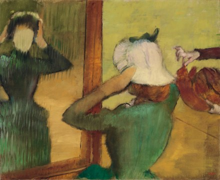 Degas-At-the-Milliner