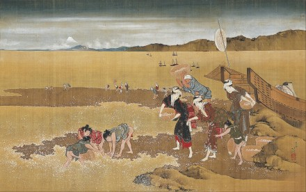Katsushika_Hokusai_-_Shell_Gathering_-_Google_Art_Project