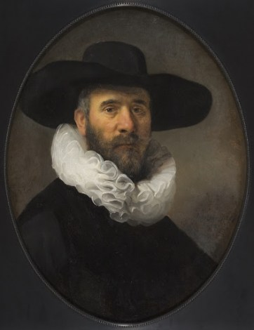 Portrait of Dirck Jansz. Pesser - Small