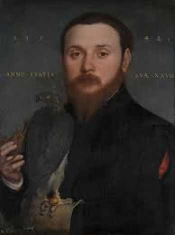 Portrait of a Nobleman with a Hawk