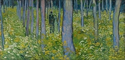 Undergrowth with Two Figures - Small
