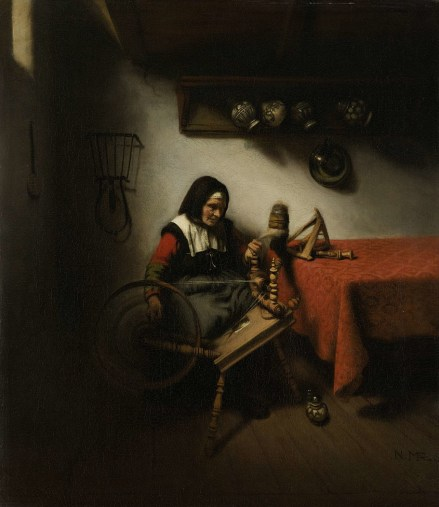 old-woman-spinning-nicolaes-maes-1650-2e0174be